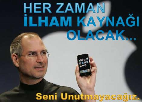 Seni Unutmayacağız, Steve Jobs…