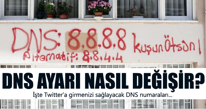 Twittera-girmek-icin-DNS-ayarlari