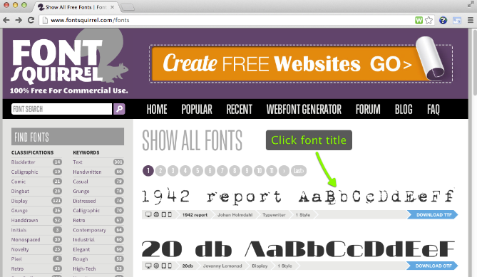 Font-Squirrel-Fonts