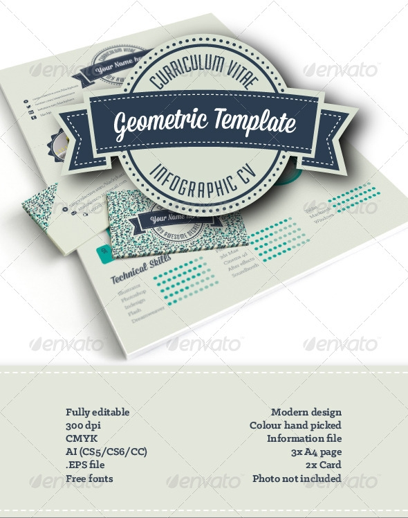 Geometric Infographic Resume - http://graphicriver.net/item/geometric-infographic-resume/6909912?WT.ac=search_thumb&WT.z_author=blackphant