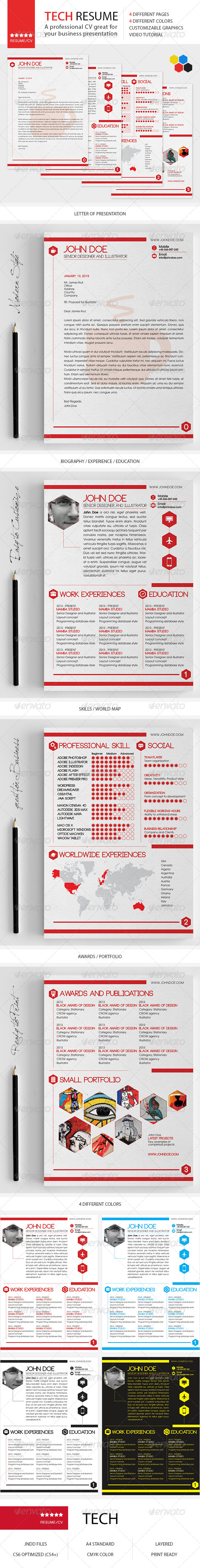 Tech Resume/CV - http://graphicriver.net/item/tech-resumecv/4874020?WT.ac=search_thumb&WT.z_author=alpaaca