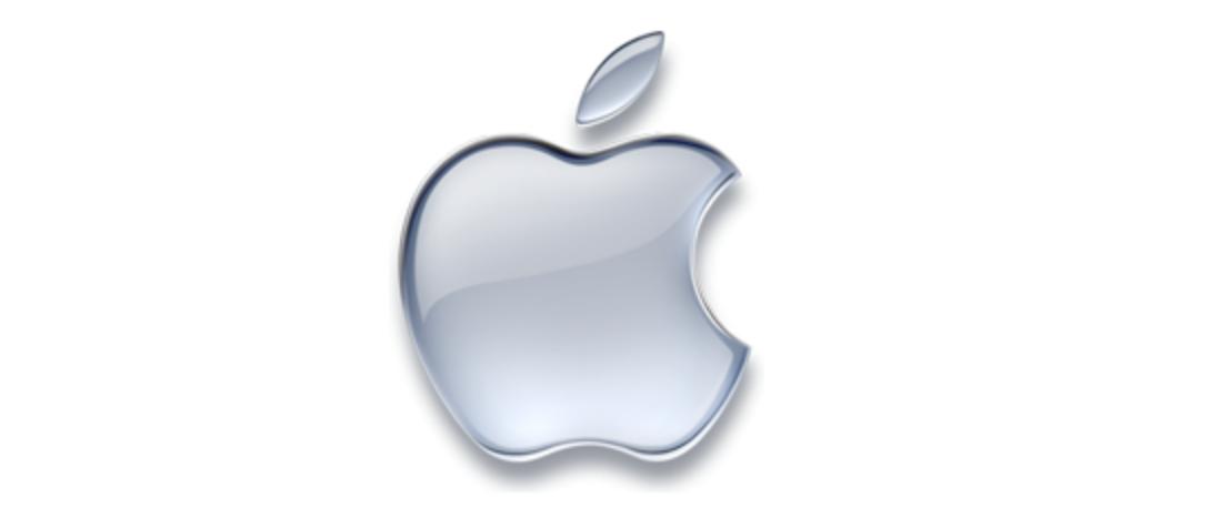 tek renkli elma logosu 1998'den günümüze