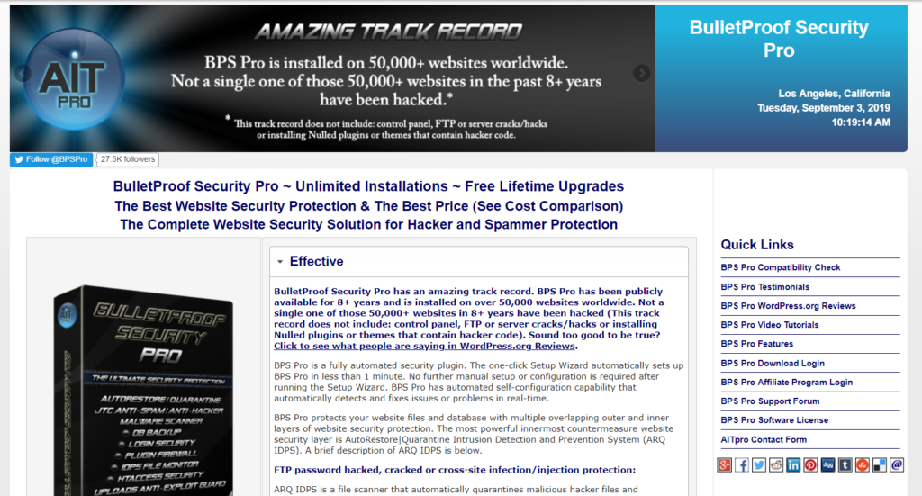 bulletproof-eklenti-güvenlik-wordpress