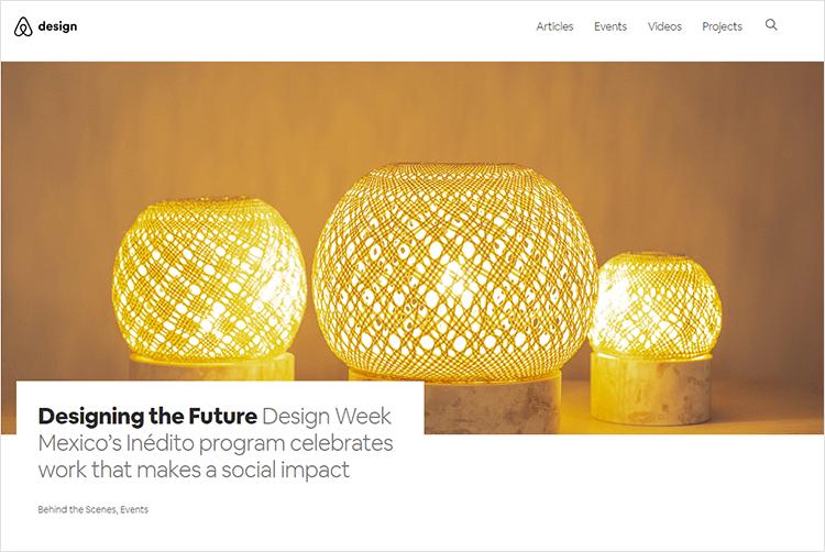 en iyi web tasarım blogları - Airbnb.design
