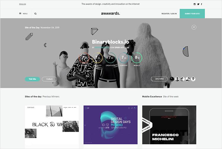 en iyi web tasarım blogları - Awwwards