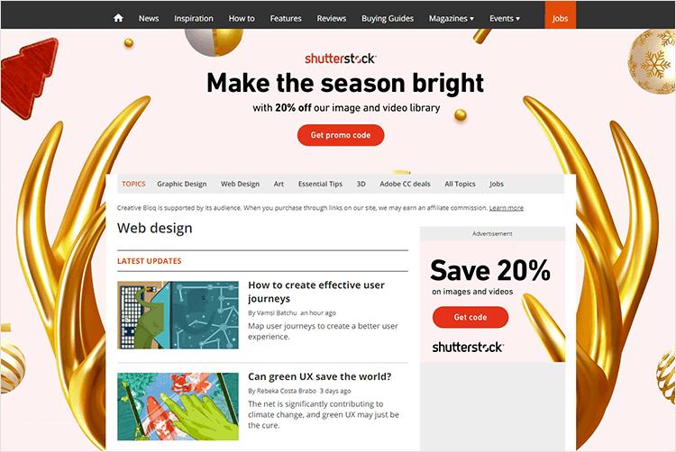 en iyi web tasarım blogları - Creative Bloq