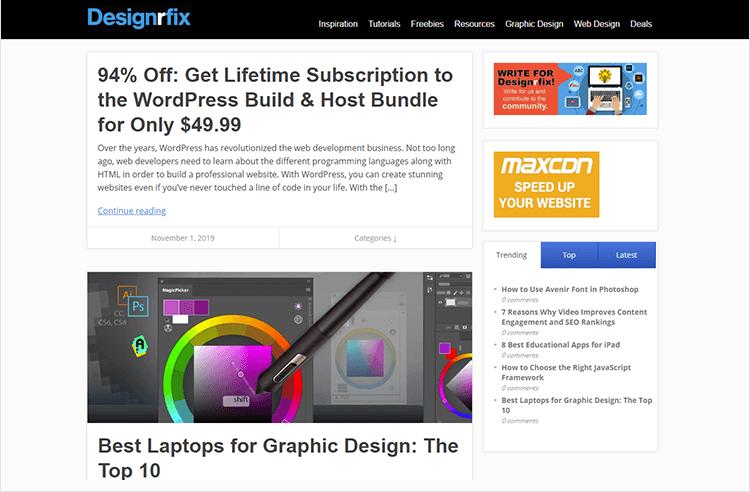 en iyi web tasarım blogları - Designrfix
