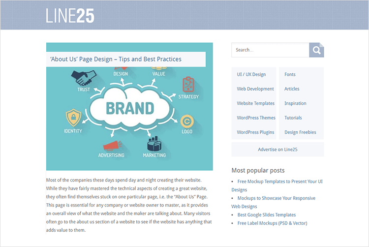 en iyi web tasarım blogları - Line25