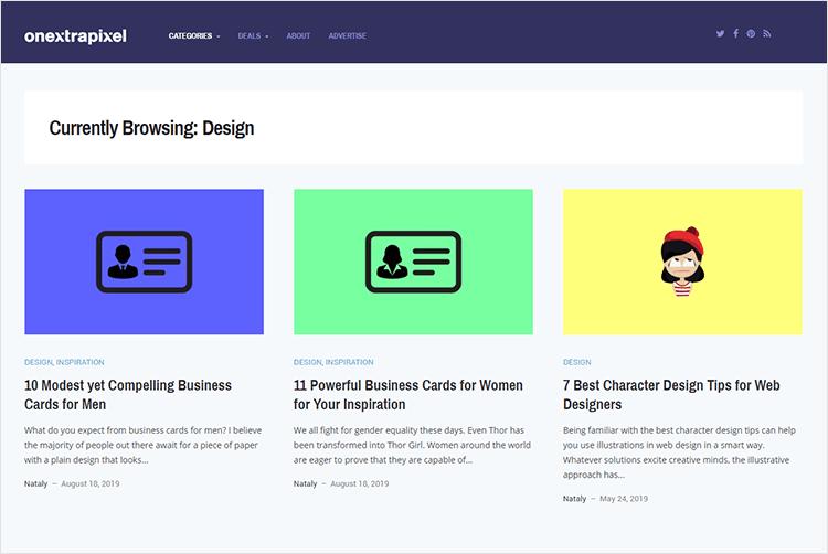 en iyi web tasarım blogları - OnextraPixel