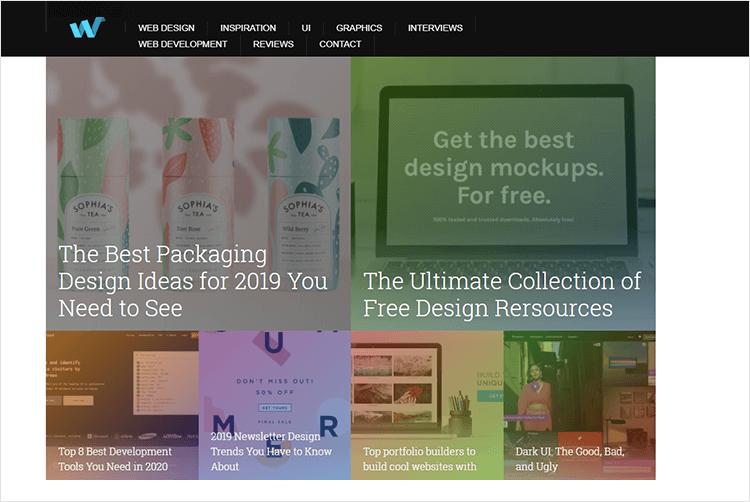 en iyi web tasarım blogları - Web Design Ledger