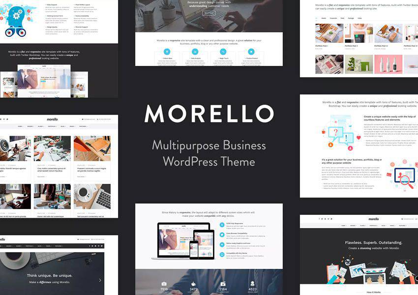 Morello Çok Amaçlı WordPress Tema Business Kurumsal