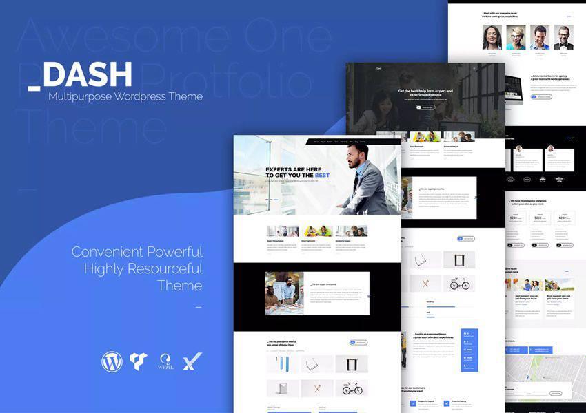 Dash yaratıcı wordpress tema iş kurumsal