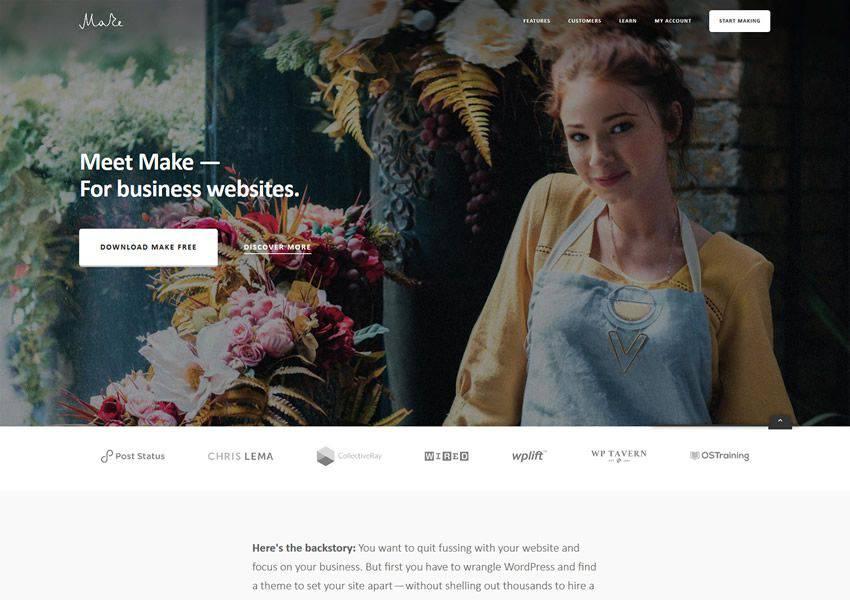 ücretsiz wordpress teması yapın wp responsive business kurumsal